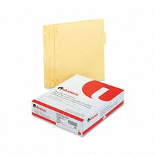 Economy Tab Dividers, 36 Sets/Box