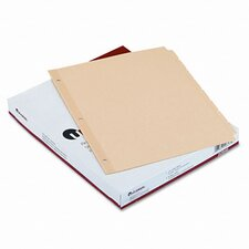 Economy Tab Dividers, 24 Sets/Box