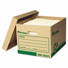 <strong>Universal®</strong> Recycled Record Storage Box, 12/Carton
