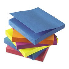 Standard Self-Stick Bright Pads, 12 100-Sheet Pads/Pack