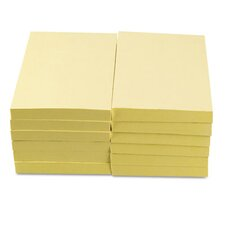 Standard Self-Stick Notes, 12 100-Sheet Pads/Pack