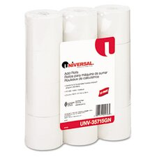 <strong>Universal®</strong> Adding Machine/Calculator Roll, 12/Pack