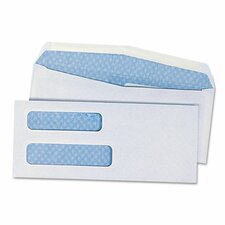 <strong>Universal®</strong> Double Window Business Envelope, #8.63, 500/Box