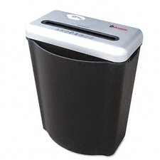Medium-Duty 38182 Cross-Cut Shredder, Black/Silver