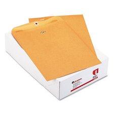 Kraft Clasp Envelope, 100/Box