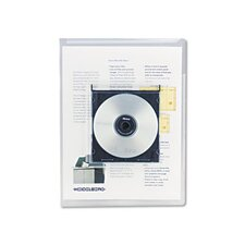 Deluxe Locking Project File with Cd-Rom Holder, 25/Pack