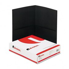 <strong>Universal®</strong> Two-Pocket Portfolio, 25/Box