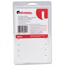 <strong>Universal®</strong> File Folder Labels For Typewriters, 248/Pack