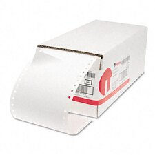 1 Across Dot Matrix Printer Labels, 5000/Box