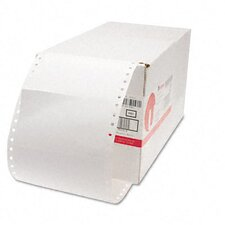 1 Across Dot Matrix Printer Labels, 3000/Box