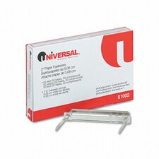 <strong>Universal®</strong> Complete Two-Piece Paper File Fasteners, 50/Box