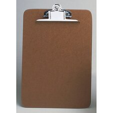 "14"" Hardboard Clipboard in Brown"