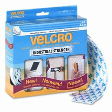 """Industrial Strength Sticky-Back Hook and Loop Fasteners, 2"""" X 15 Ft. Roll"""