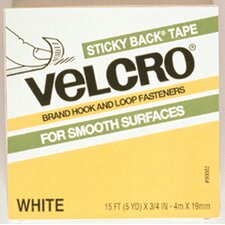 Velcro Tape 3/4 X 18 Strips White