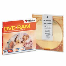 Type 4 Dvd-Ram Cartridge, 4.7Gb, 3X