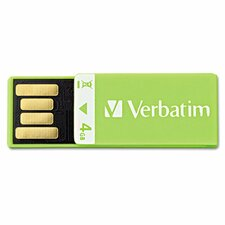 Clip-It USB Flash Drive, 4G