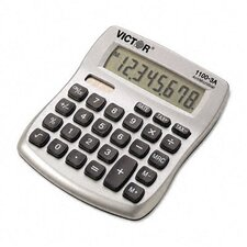Antimicrobial Compact Desktop Calculator, 10-Digit Lcd