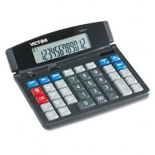 Business Desktop Calculator, 12-Digit Lcd