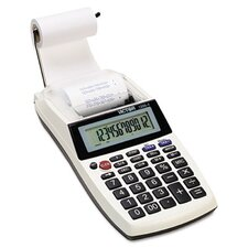 Palm/Desktop Printing Calculator, 12-Digit Lcd
