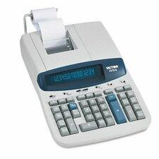 Ribbon Printing Calculator, 14-Digit Fluorescent