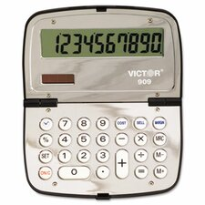 909 Handheld Calculator, 10-Digit LCD