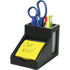 Midnight Pencil Cup/Note Holder