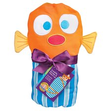 Fish Swaddle Blanket and Cap Set