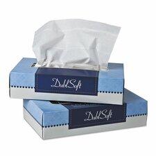 Dublsoft Facial 2-Ply Tissues - 100 Tissues per Box / 30 Boxes
