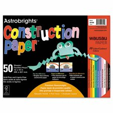 <strong>Wausau Papers</strong> Astrobrights Construction Paper