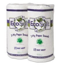 Seal Kitchen 2-Ply Paper Towels - 90 Sheets per Roll / 30 Rolls