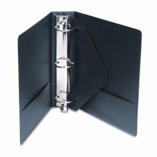 Vinyl Round Ring Locking View Binder, 2in Capacity