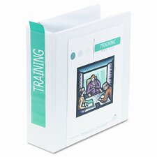 "International A4 Size 4-Ring View Binder, 3"" Capacity"