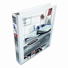 "Professional Plus Lock No-Gap Vinyl View D-Ring Binder, 1"" Capacity"