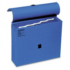 Colorlife 5 1/4 Inch Expansion File, Five Pockets, Letter
