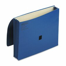 """Colorlife 3"""" Expansion Wallets with Velcro Gripper, Letter"""
