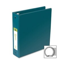 "Basic Vinyl Round Ring Binder, 2"" Capacity"