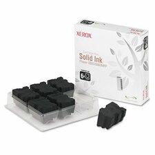 108R00749 Solid Ink Stick, 6/Pk, Black