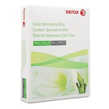 <strong>Xerox®</strong> Color Xpressions Elite Paper, 100 Brightness, 28Lb, 8-1/2 X 11, 500 Sheets/Ream