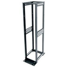 "R4 Series 30"" D Four Post Open Frame Rack with 12-24 Threaded Rackrail"
