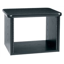 Edit Center Table Top Rack (8 Rackspace) with Graphite Top