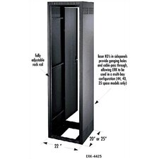 "ERK Series 25"" D Stand Alone/Gangable Rack Enclosure"