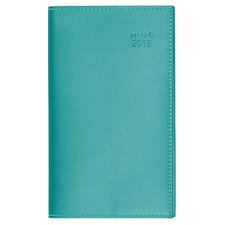2015 Faux Leather Monthly Planner