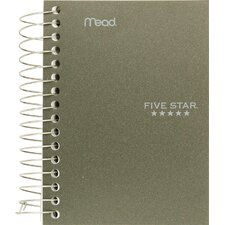 "<strong>Mead</strong> 5.5"" x 4"" Five Star Fat Lil' Wirebound Notebook"
