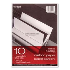 Carbon Mill Finish Paper, 8-1/2 X 11/Pack