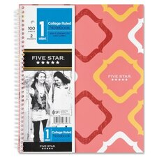 Five Star 1-Subject College Ruled Notebook