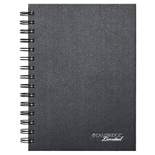 "6.25"" x 8"" Cambridge Hardbound Notebook with Pocket"