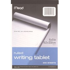 "<strong>Mead</strong> 6"" x 9"" Wide Ruled Writing Tablet"