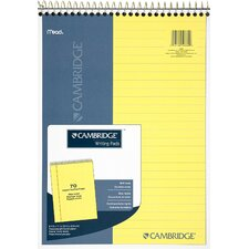 "8.5"" x 11"" Cambridge Wirebound Notebook"