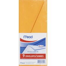 Letter Size Kraft Envelope (9 Count)