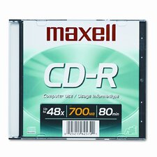 Cd-R Disc, 700Mb/80Min, 48X
